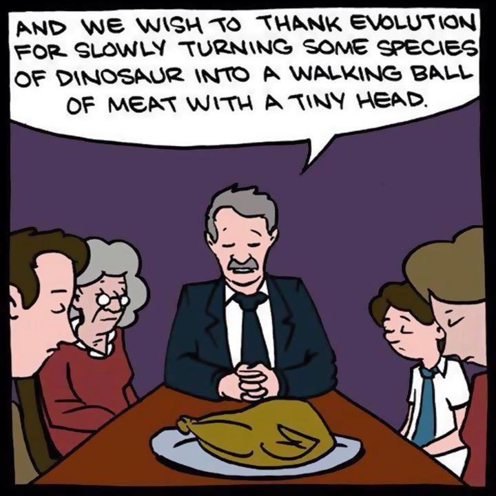 atheist thanksgiving
