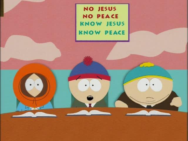 no jesus no peace