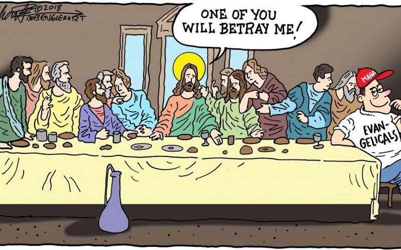 evangelical betrayal of jesus