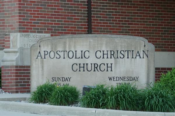 apostolic christian church paulding ohio
