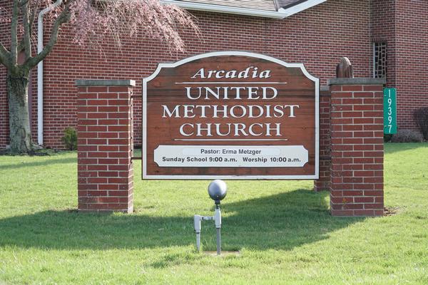 arcadia united methodist church arcadia ohio