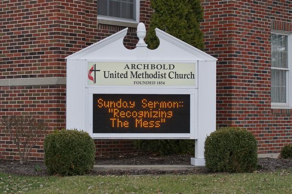archbold united methodist church archbold ohio