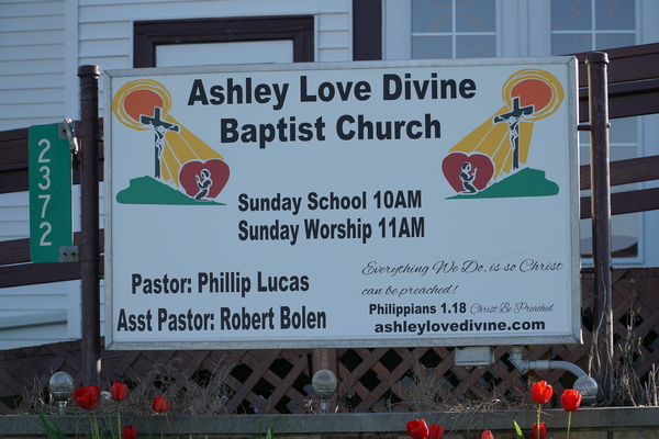 ashley love divine baptist church ashley indiana