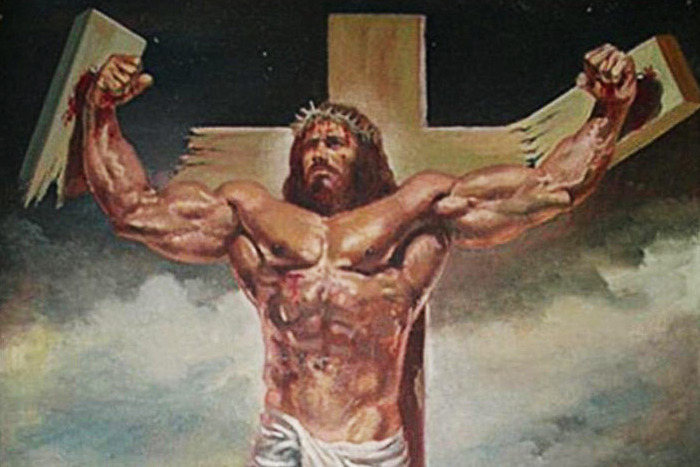 manly jesus