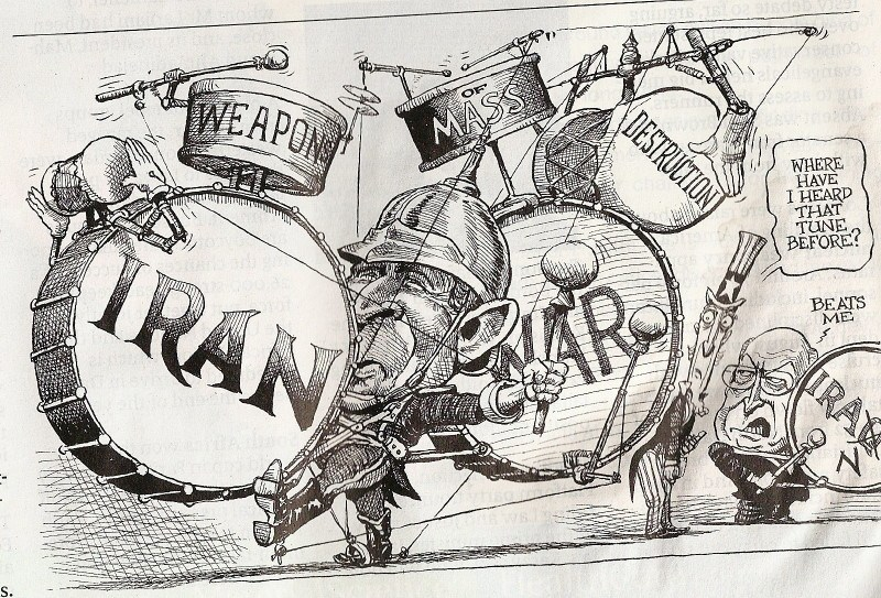 bush iran war