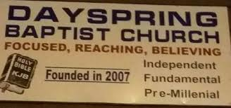 dayspring baptist church newport