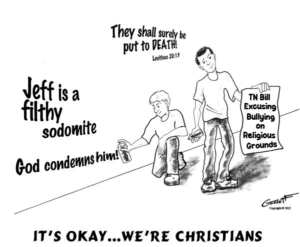 christians condemn gays
