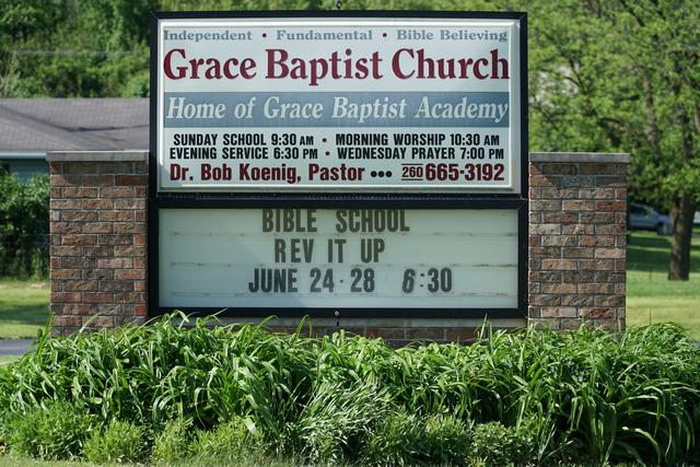 grace baptist church angola indiana