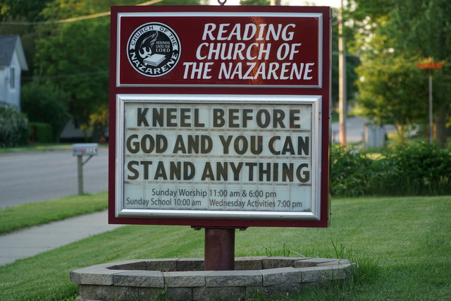 reading church of the nazarene reading michigan