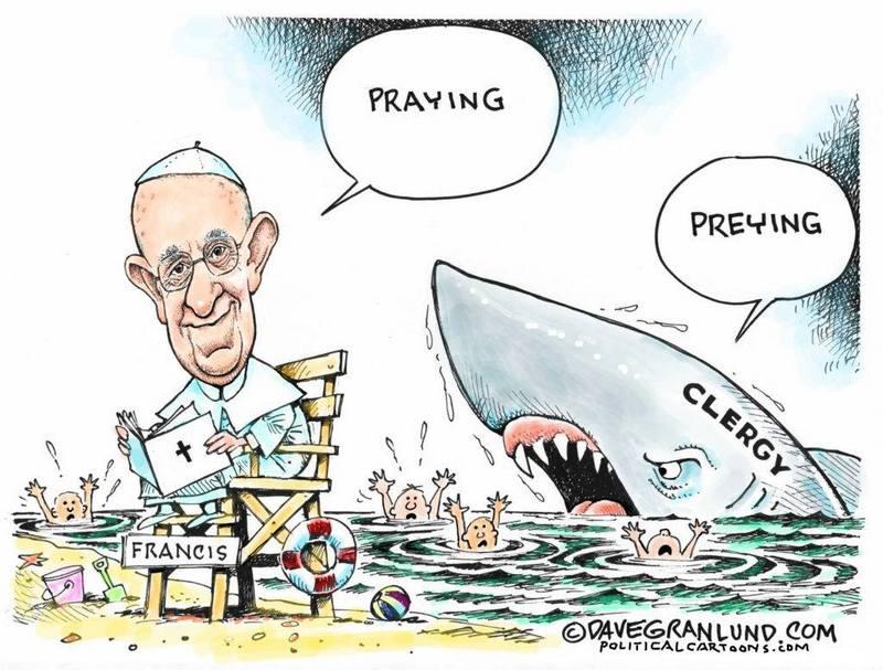 praying pope francis