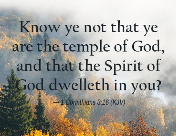 indwelling of the holy spirit