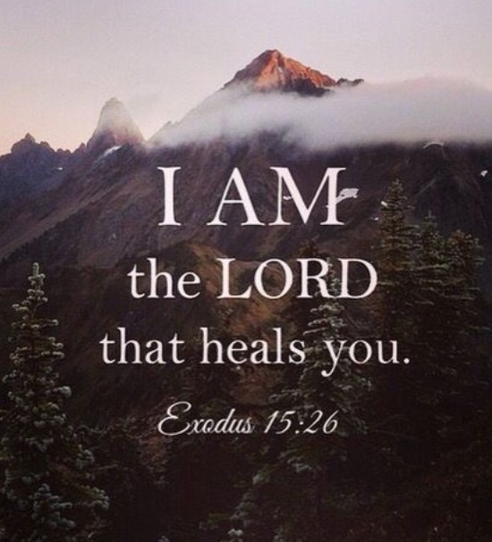 lord that heals you