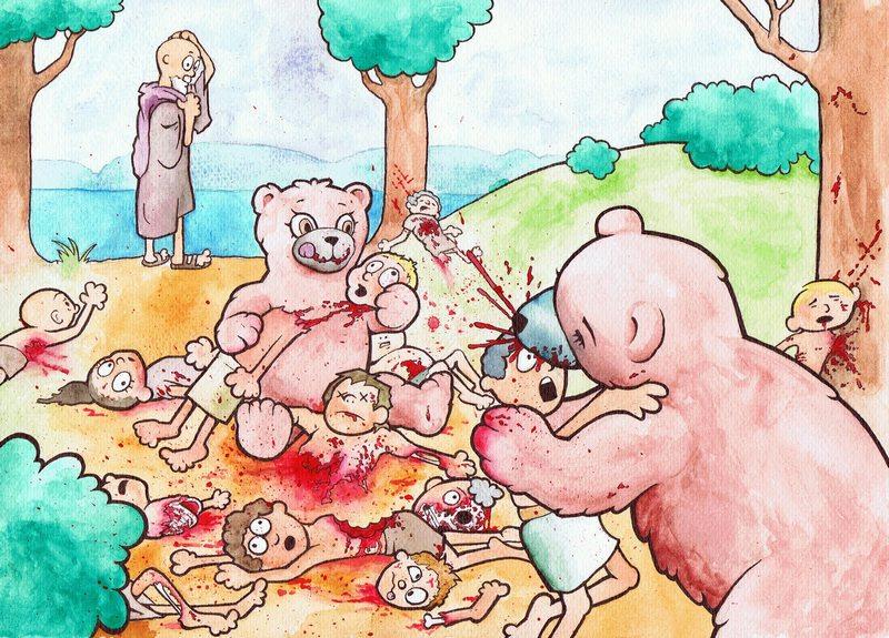 elisha bears