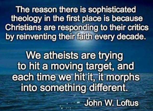 sophisticated theology john loftus