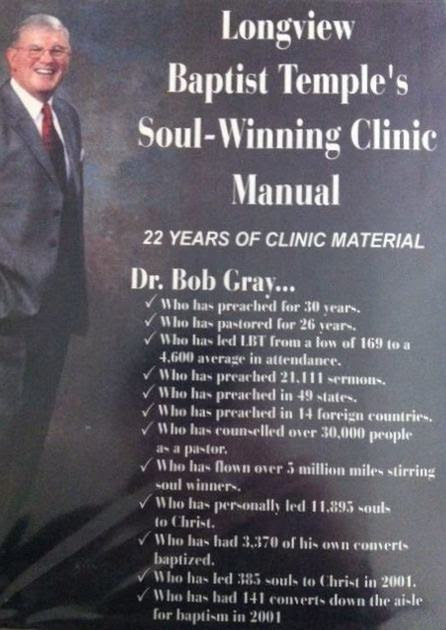 bob gray soulwinning clinic manual