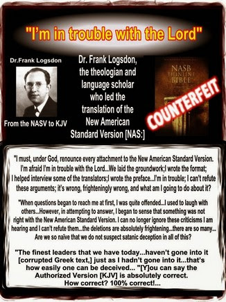 from NASV to KJV Frank Logsdon