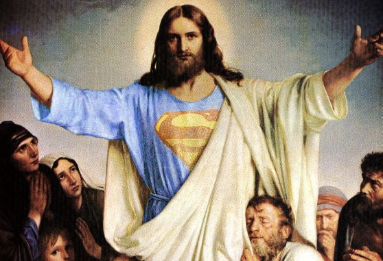 jesus the original superman