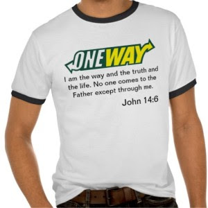 one way jesus subway shirt