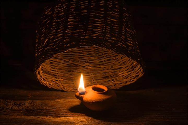 light under a bushel
