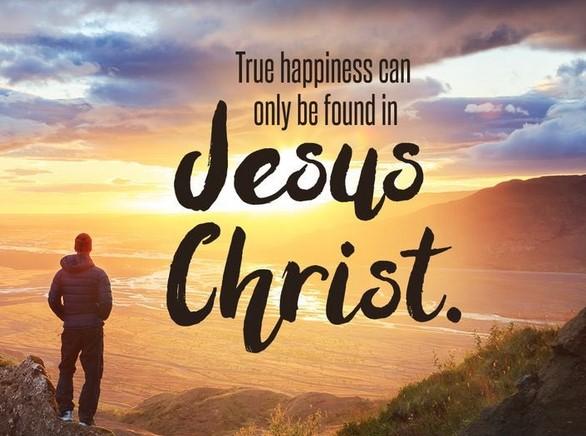 true happiness found in jesus