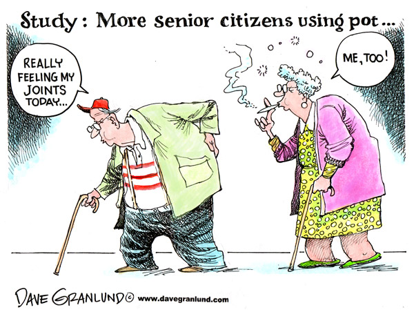 seniors smoke pot