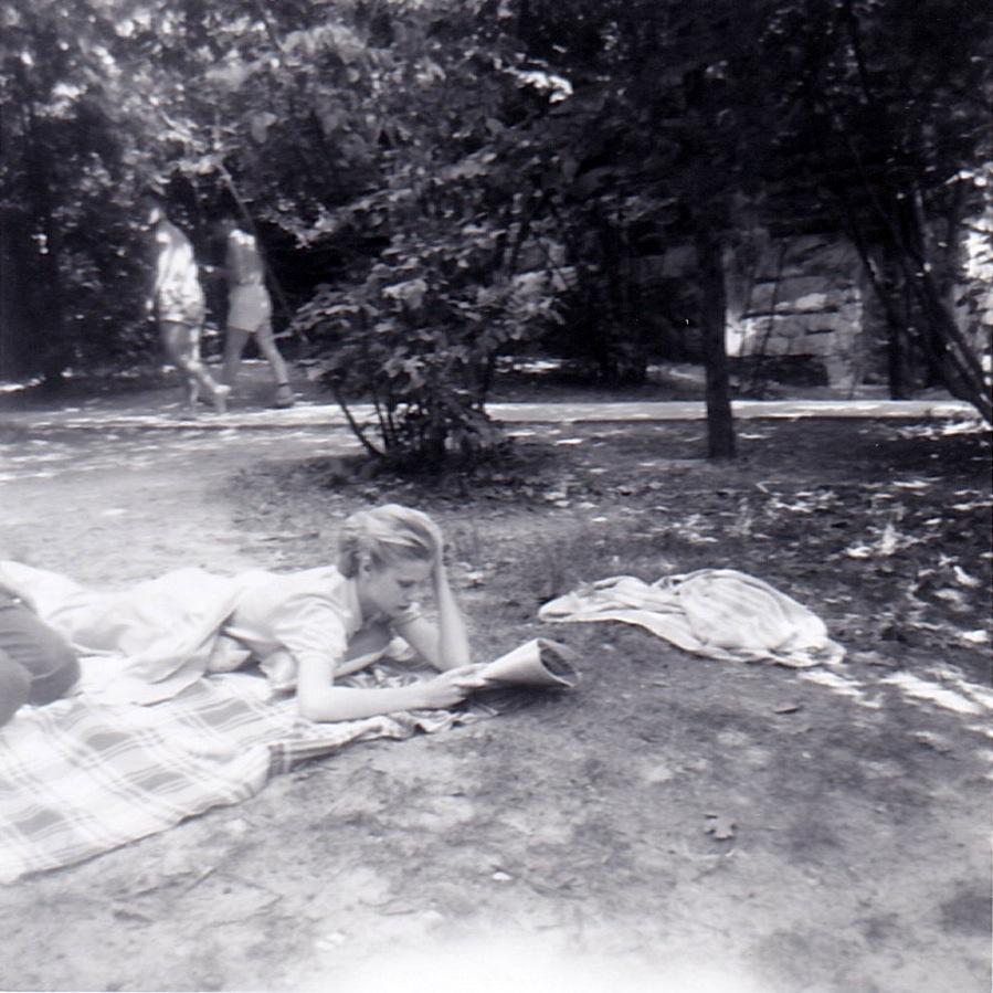 mom moore park summer 1956
