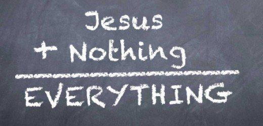 jesus plus nothing