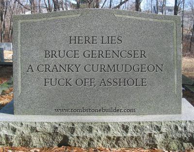 bruce gerencser curmudgeon