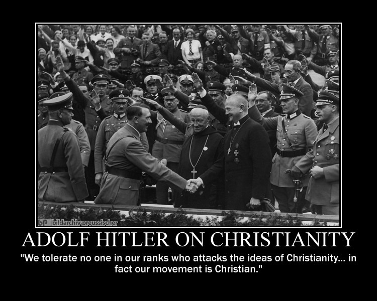 adolph hitler christian